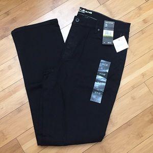 NEW DKNY soho skinny jeans 14x32 in black